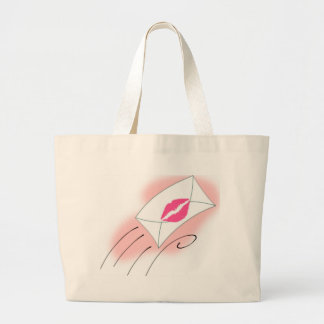Sealed With A Kiss Canvas Bags