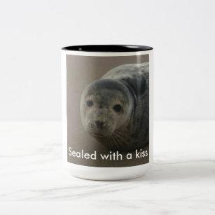 Seal Pups Coffee Travel Mugs Zazzle Uk