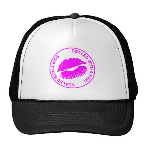Sealed With A Kiss Mesh Hats