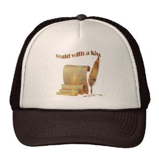 Sealed with a kiss - T-shirts design Cap