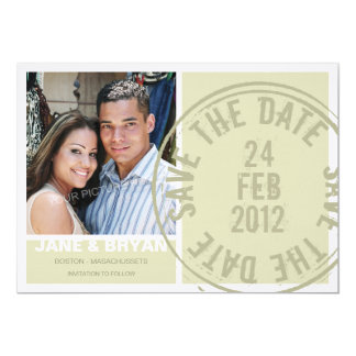 Sealed with Love - Save the Date Card 13 Cm X 18 Cm Invitation Card