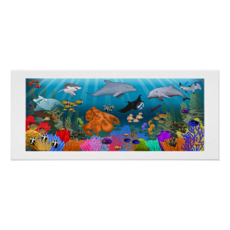 SeaLife Coral Reef poster