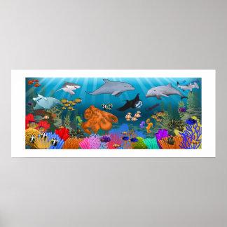 SeaLife Coral Reef poster