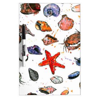 Sealife's Watercolors Dry Erase Board