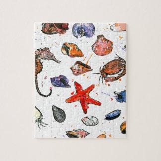 Sealife's Watercolors Jigsaw Puzzle