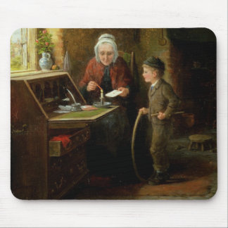 Sealing a Letter, 1890 (oil on panel) Mouse Mat