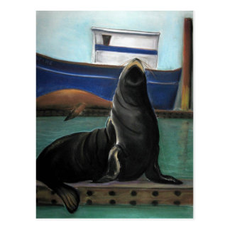 Sealion King Postcard