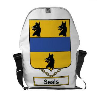 Seals Family Crest Messenger Bags