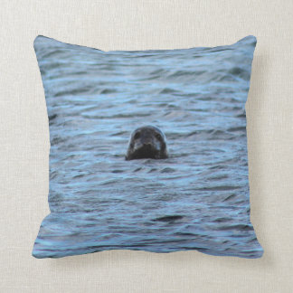 Seals in Orkney (Scotland) Cushion