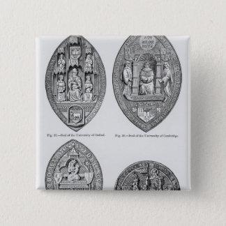 Seals of the Universities 15 Cm Square Badge