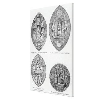 Seals of the Universities Canvas Print