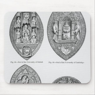 Seals of the Universities Mouse Mat