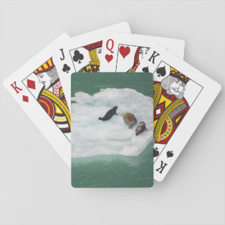 Seals on an Iceberg Playing Cards