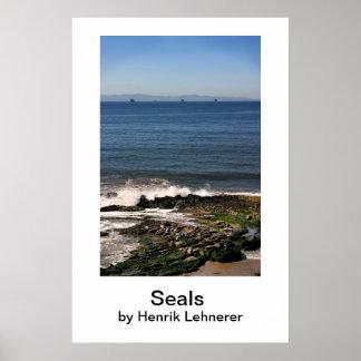 Seals Seals by Henrik Lehnerer Posters