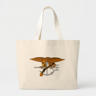 SEALs Trident Jumbo Tote Bag