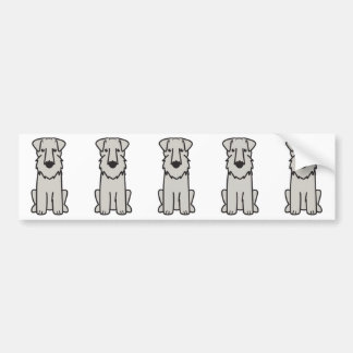 Sealyham Terrier Dog Cartoon Bumper Sticker
