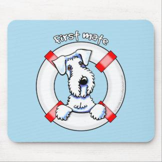 Sealyham Terrier First Mate Mousepads
