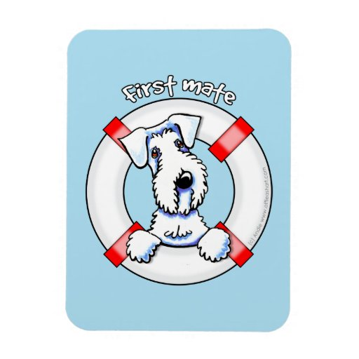 Sealyham Terrier First Mate Flexible Magnets