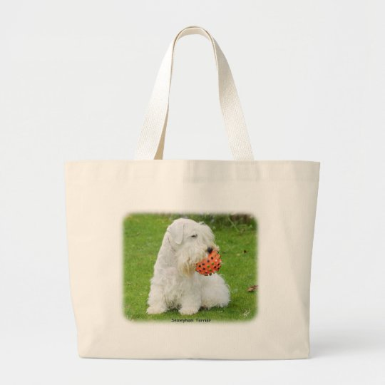Sealyham Terrier Large Tote Bag