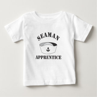 Seaman Apprentice White high Domed Cover Baby T-Shirt