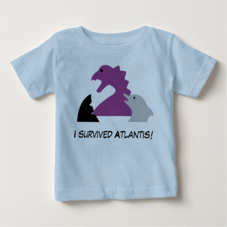 Seameeples - I survived Atlantis Baby T-Shirt