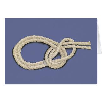 Seamen's Knots Greeting Card