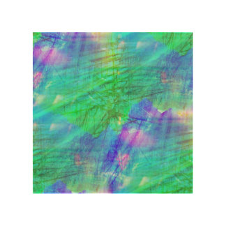 seamless art background watercolor blue, green
