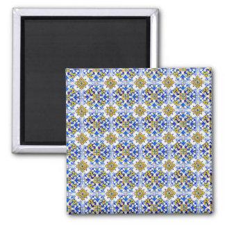Seamless Azulejo Art Tile Magnet