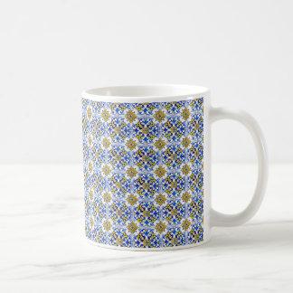 Seamless Azulejo Panel Tiles Basic White Mug