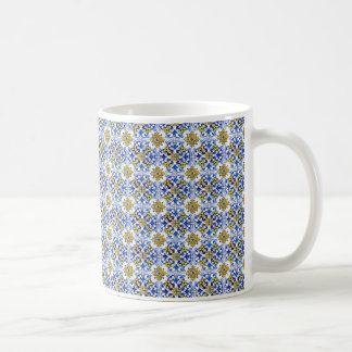 Seamless Azulejo Panel Tiles Coffee Mug