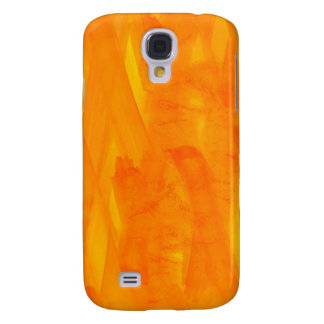 Seamless Background Yellow Abstract Watercolor Galaxy S4 Case