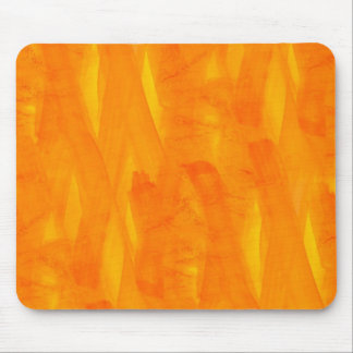 Seamless Background Yellow Abstract Watercolor Mouse Pad