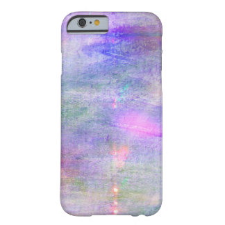 seamless blue, pink background yellow watercolor barely there iPhone 6 case