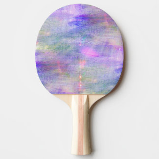 seamless blue, pink background yellow watercolor ping pong paddle