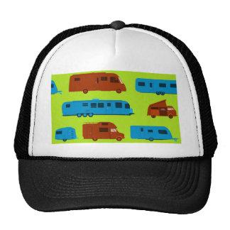 Seamless Caravan Pattern Mesh Hat
