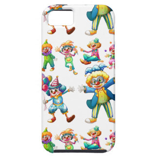 Seamless clowns iPhone 5 cases