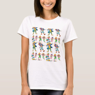 Seamless clowns T-Shirt