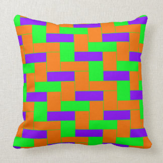 Seamless Colourful Pattern of Symmetric oblong Cushion