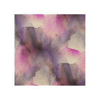 seamless cubism purple abstract art