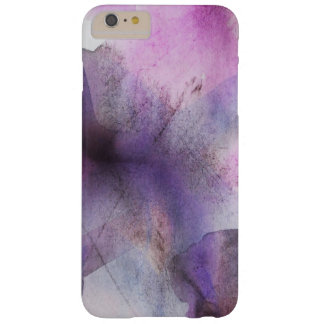 seamless cubism purple abstract art barely there iPhone 6 plus case