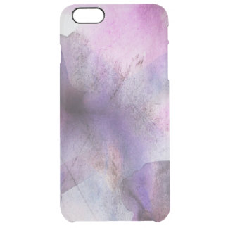seamless cubism purple abstract art clear iPhone 6 plus case