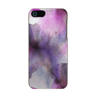 seamless cubism purple abstract art incipio feather® shine iPhone 5 case