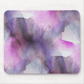 seamless cubism purple abstract art mouse pad