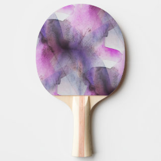seamless cubism purple abstract art ping pong paddle