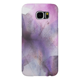 seamless cubism purple abstract art samsung galaxy s6 cases