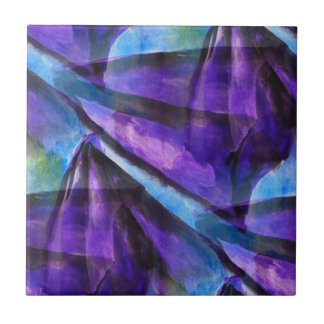 seamless cubism purple, blue abstract art small square tile