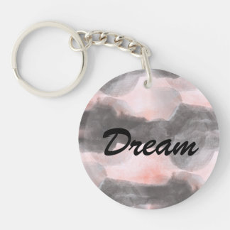 Seamless Design  Texture Background Abstract Double-Sided Round Acrylic Key Ring