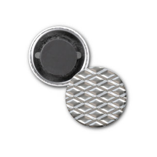 Seamless Diamond Shaped Chrome Plated Metal Magnet