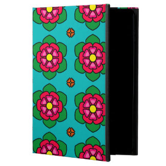 Seamless Floral Pattern Blue Background Powis iPad Air 2 Case