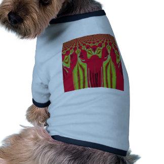 Seamless Hakuna Matata design Dog T-shirt